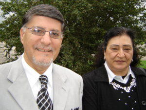 Rev. Naim Khoury and his wife Elvira
